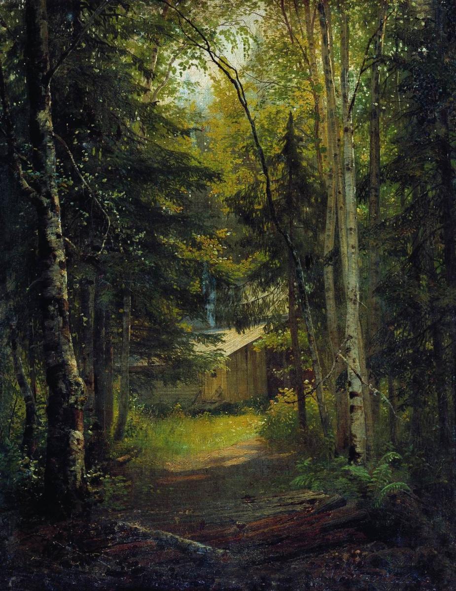 Иван Иванович Шишкин. Сторожка в лесу