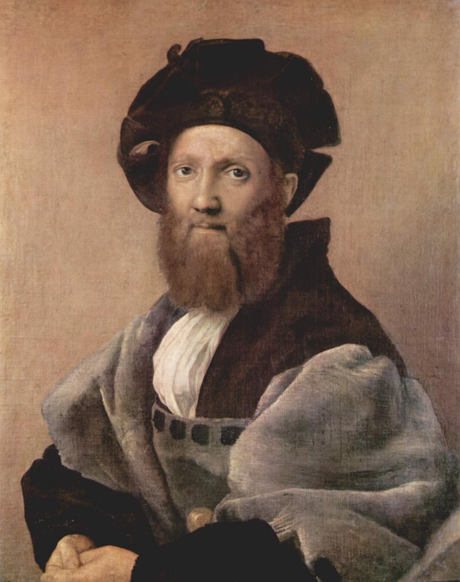 Рафаэль Санти. Портрет Бальдассаре Кастильоне