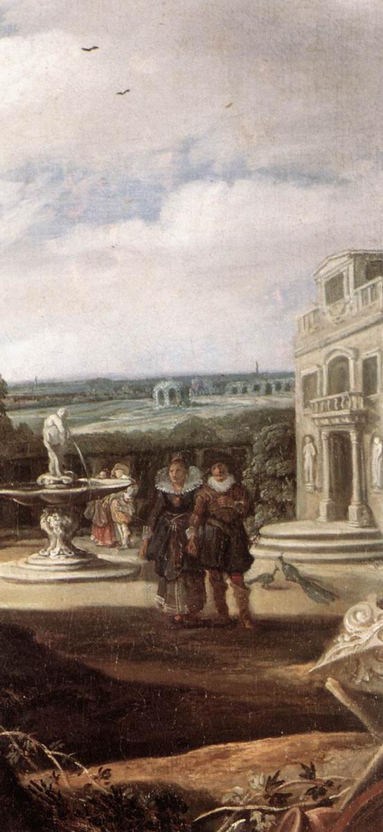 Франс Халс. Супружеская пара в саду