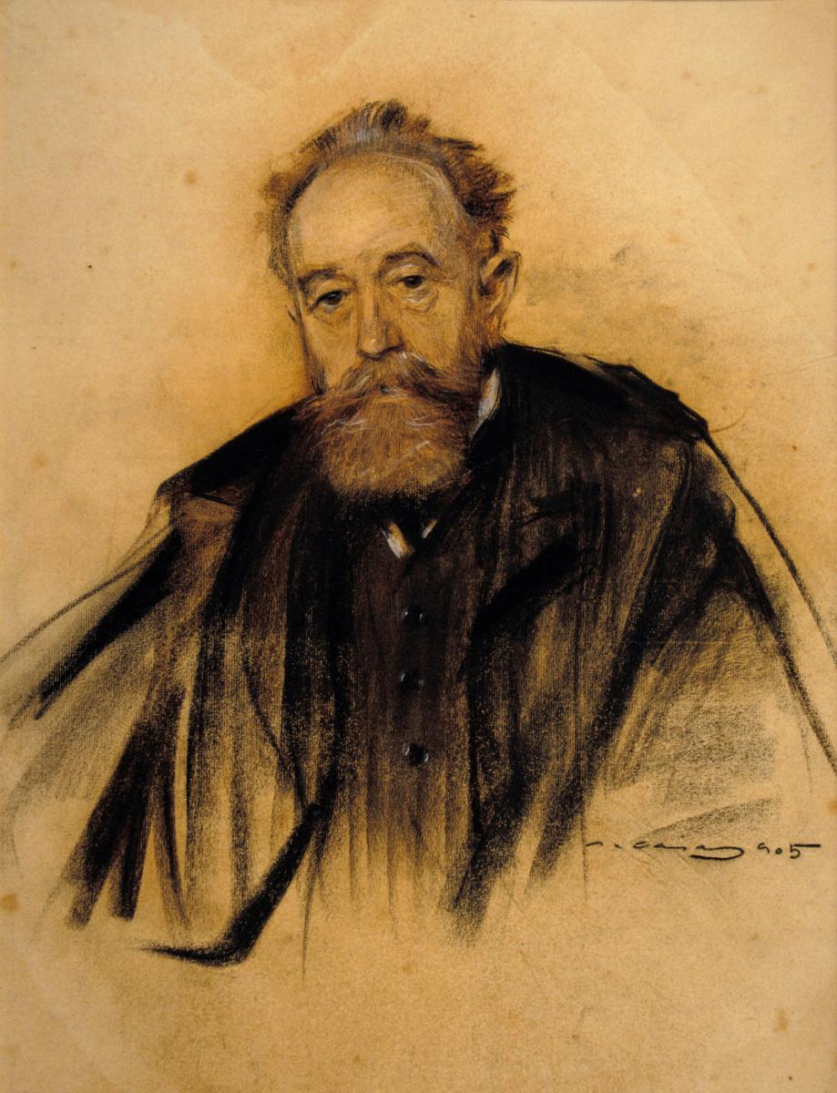 Рамон Касас Карбо. Портрет Аврелиано де Беруэте