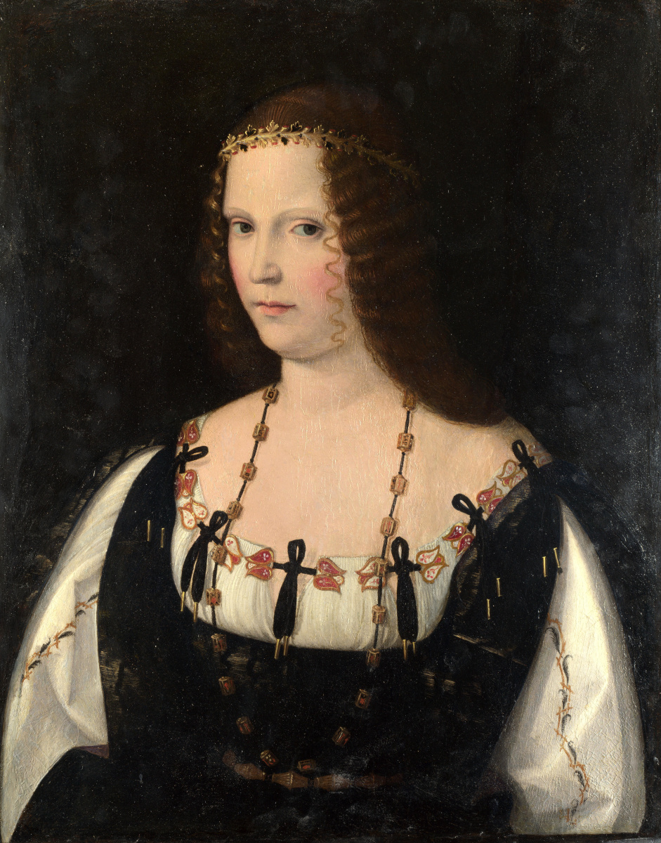 Венето Бартоломео. Портрет молодой дамы