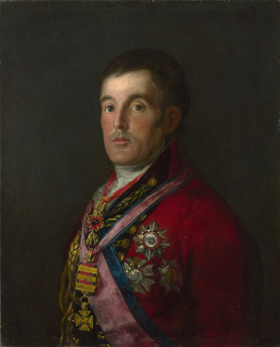 Франсиско Гойя. Портрет герцога Веллингтона
