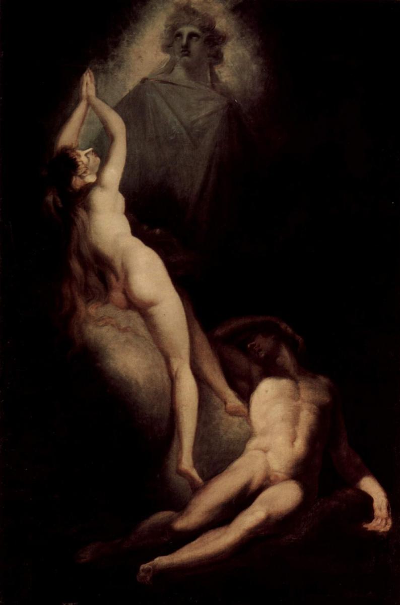 Иоганн Генрих Фюссли. Сотворение Евы