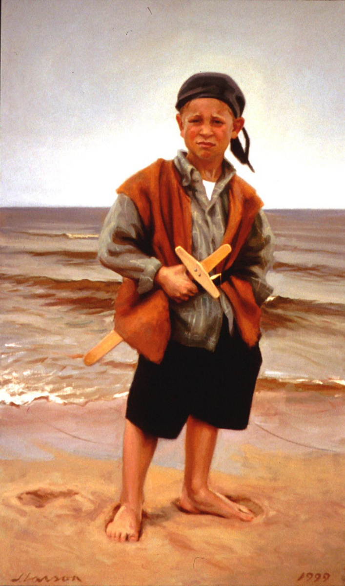 Джеффри Ларсон. Портрет сына