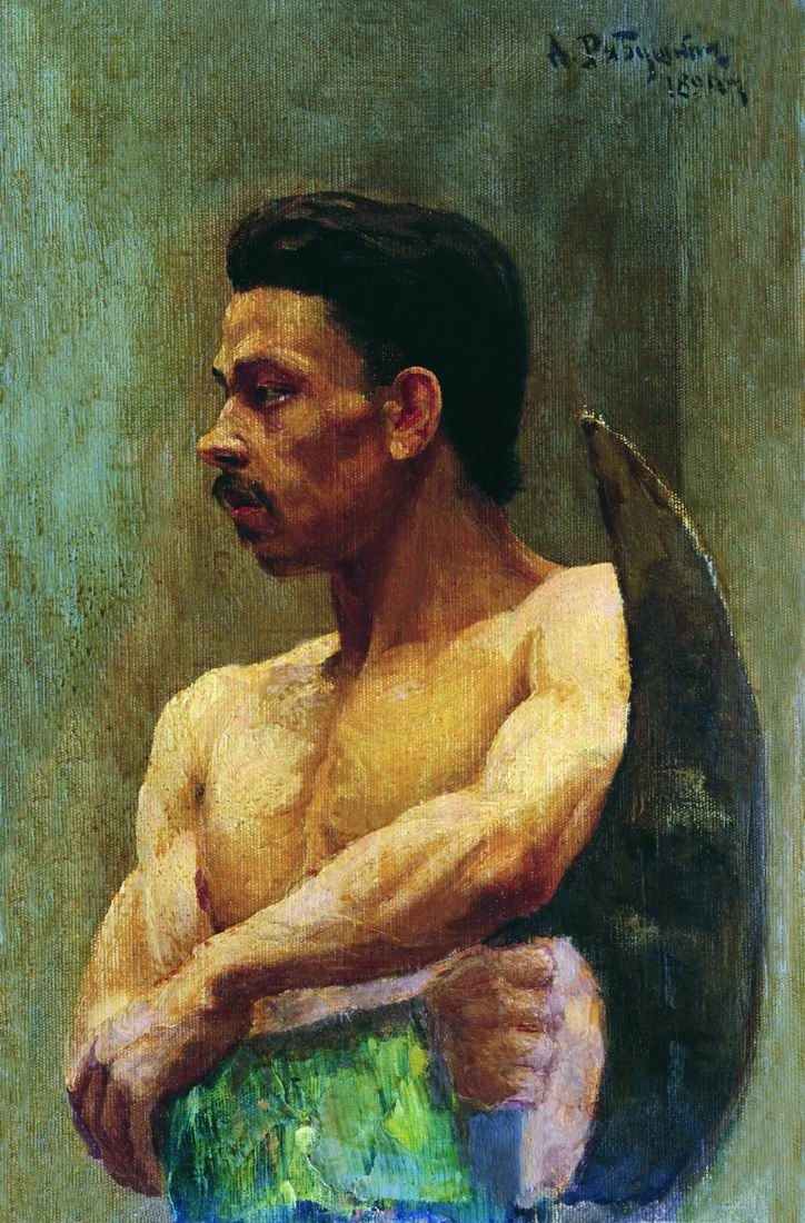 Andrei Petrovich Ryabushkin. Newbie 1891