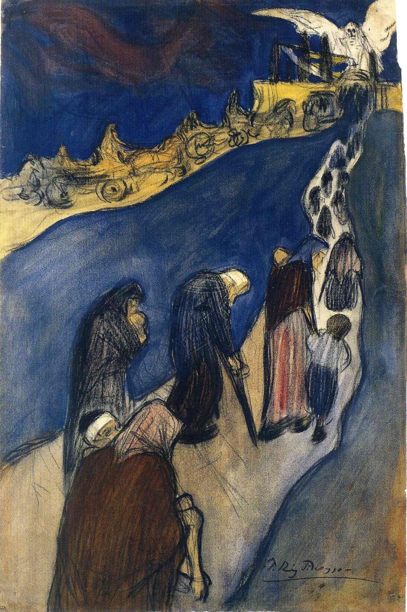 Пабло Пикассо. Конец дороги