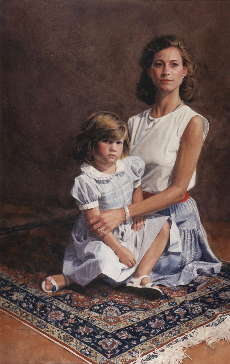 Пол Маккормак. Мать с ребенком