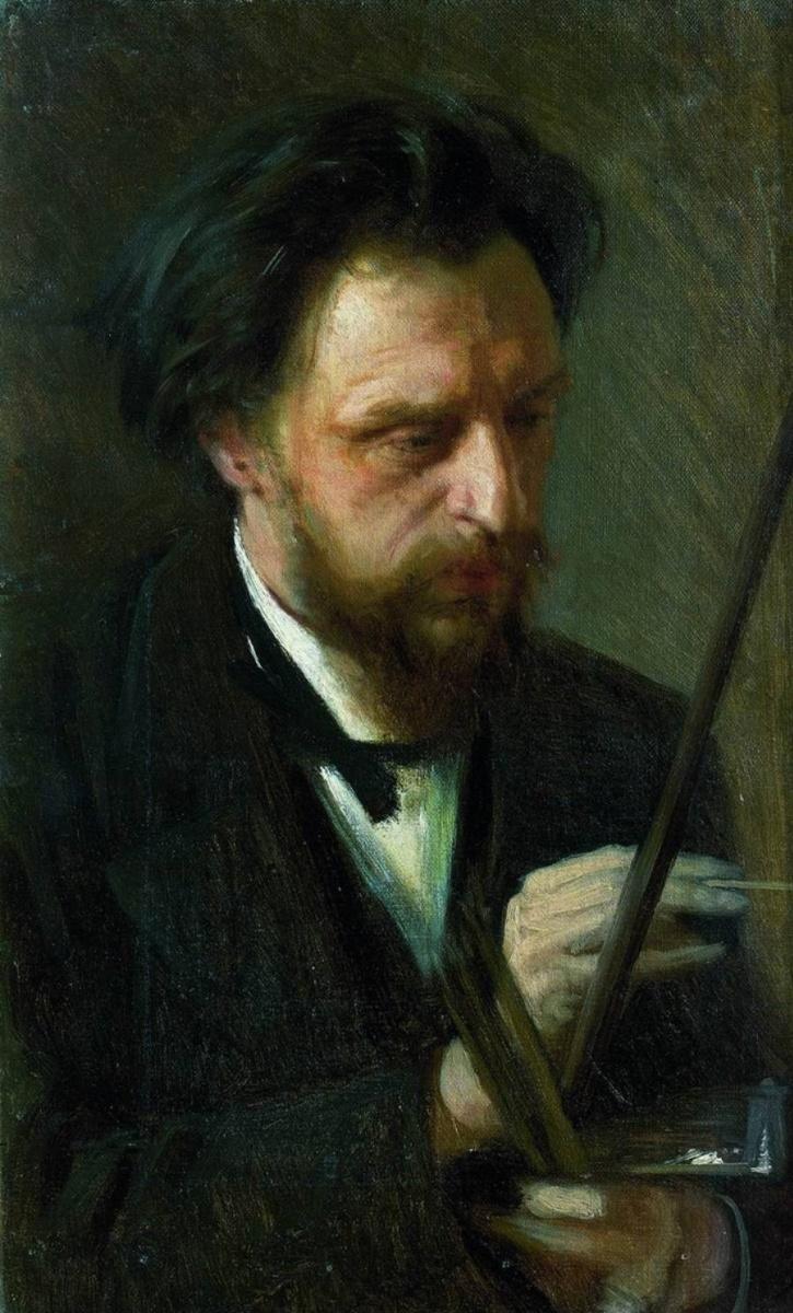 Иван Николаевич Крамской. Портрет художника Григория Григорьевича Мясоедова