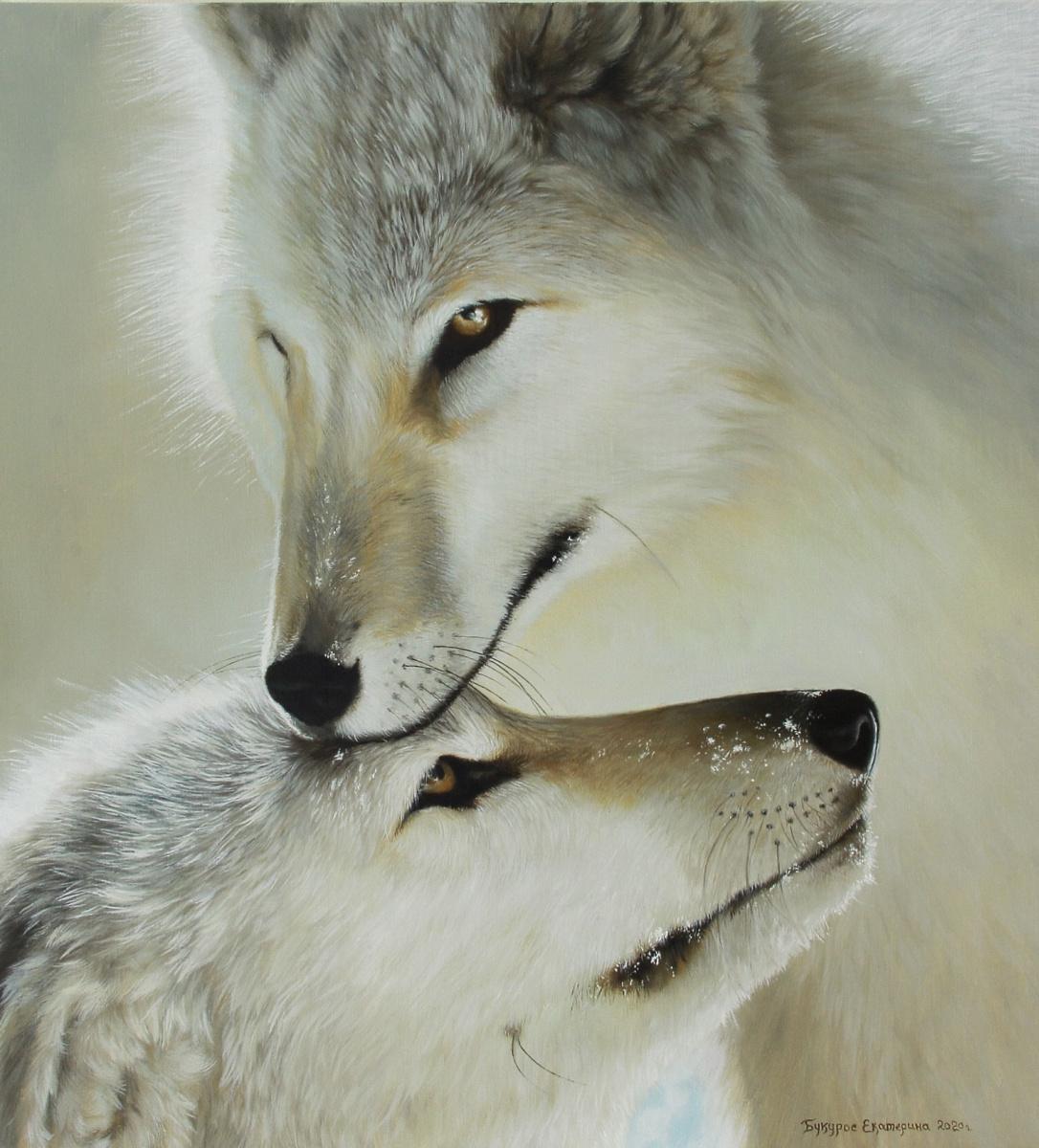 Katerina Bukuros. Белые волки