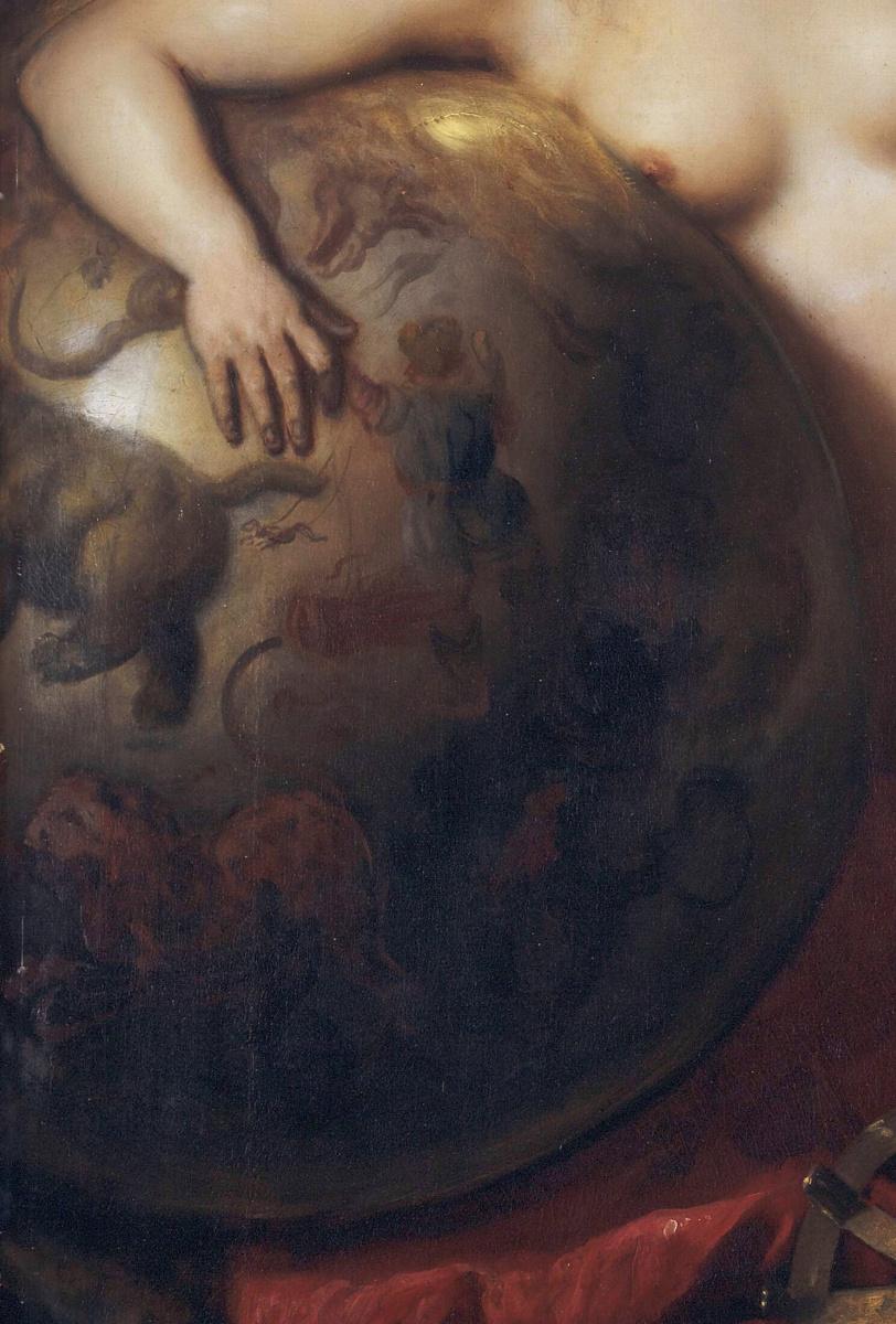 Ян Ливенс. Пять муз на горе Парнас. Фрагмент III