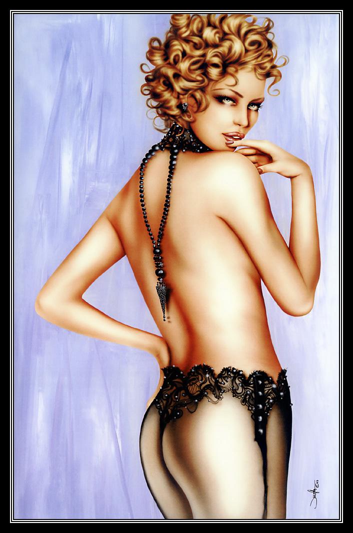 Jennifer Ianesco. Girl with curly hair