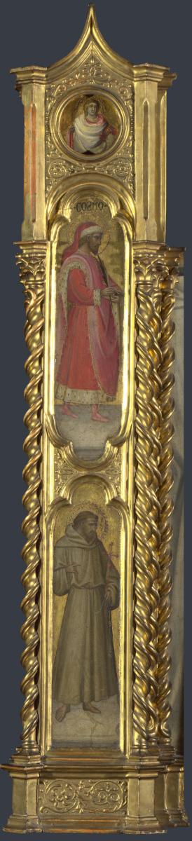 Дал Понте Джованни. Неизвестный Святой, Святой Космы и Святой Франциск