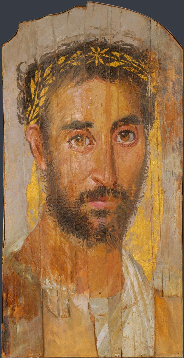 Греко-римский. Человек с венком