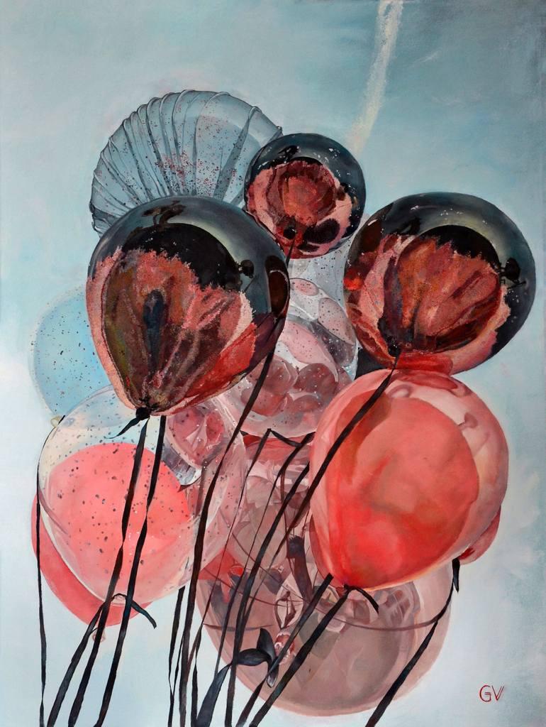 Veronika Glushkova. Balloons