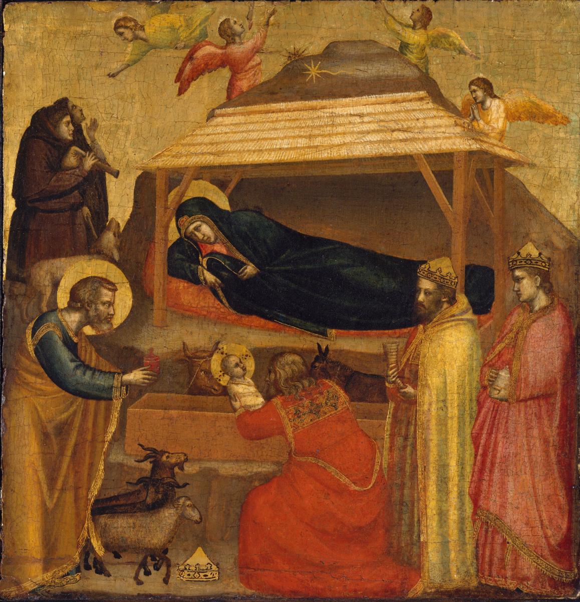 Giotto di Bondone. Adoration of the Magi