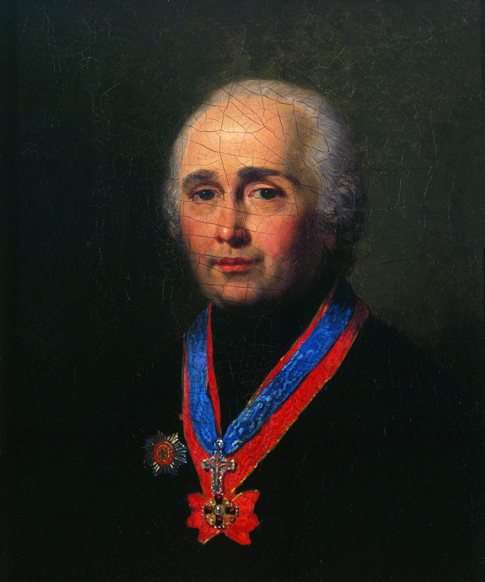 Vladimir Borovikovsky. Portrait of A. Samborsky