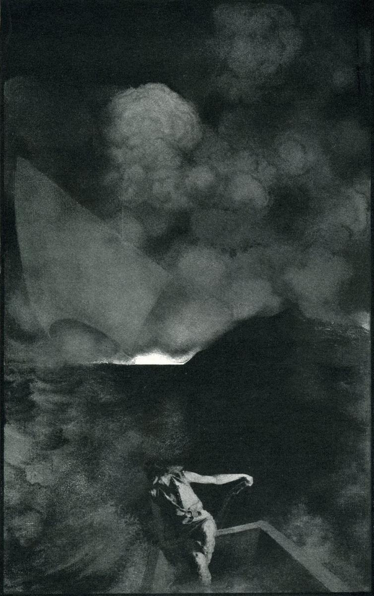 """Максфилд Пэрриш. Дизайн страницы для журнала """"Скрибнер и столетие"""" IV"""