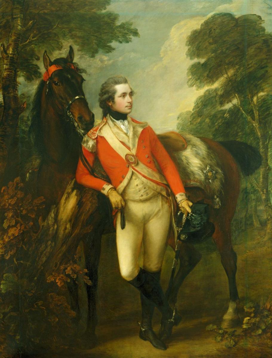 Thomas Gainsborough. Portrait Of John Hayes St Leger