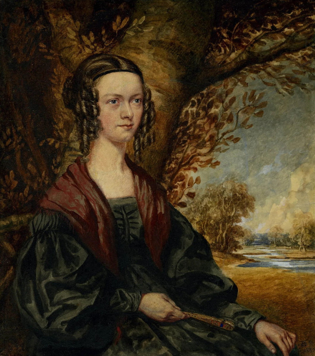 Ричард Дадд. Portrait of Elizabeth Langley