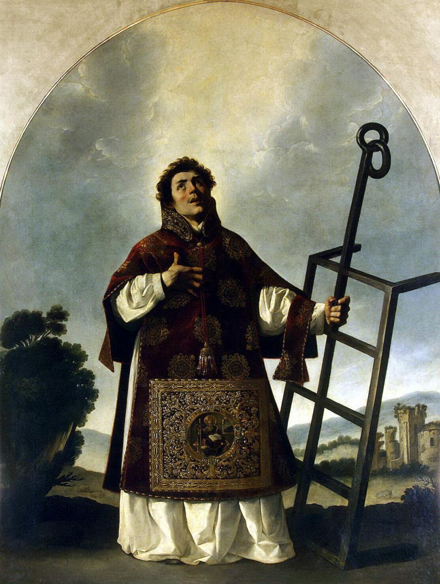 Франсиско де Сурбаран. Святой Лаврентий