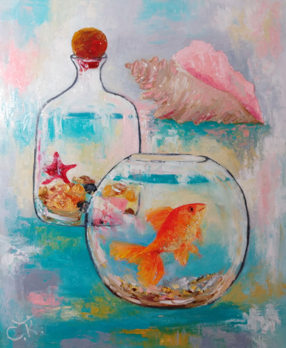 Svetlana Konstantinova. Gold fish