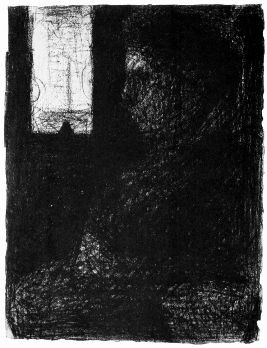 Georges Seurat. The woman in the car