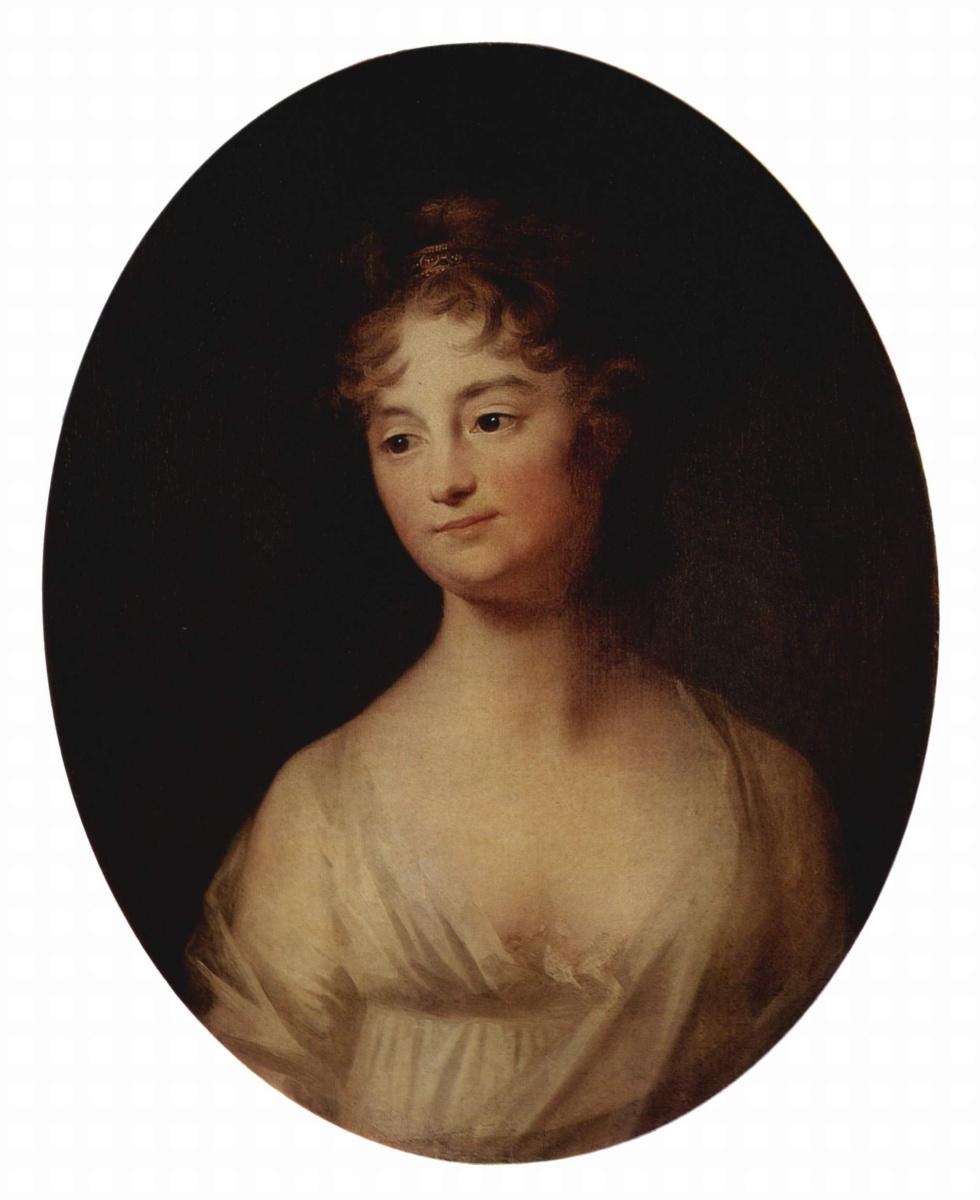 Иоганн Генрих Вильгельм Тишбейн. Женский портрет