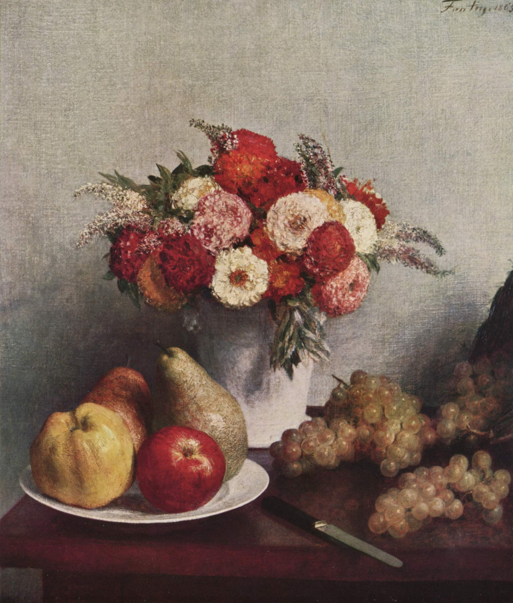Henri Fantin-Latour. Flowers and fruits