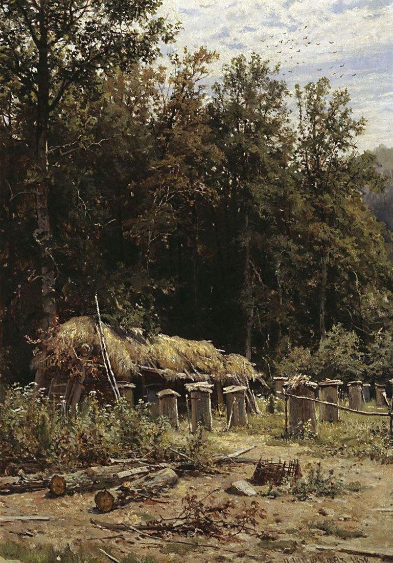 Иван Иванович Шишкин. Пасека