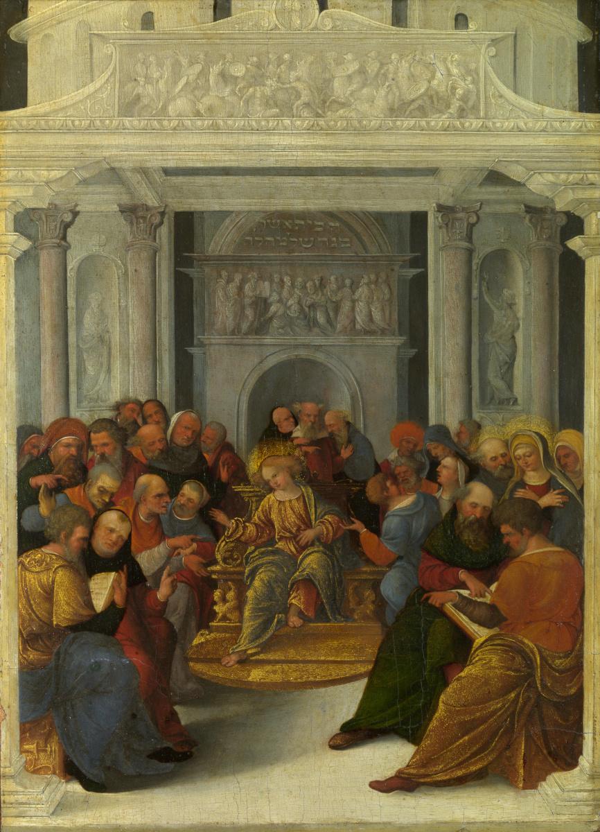 Лодовико Маззолино. Христос