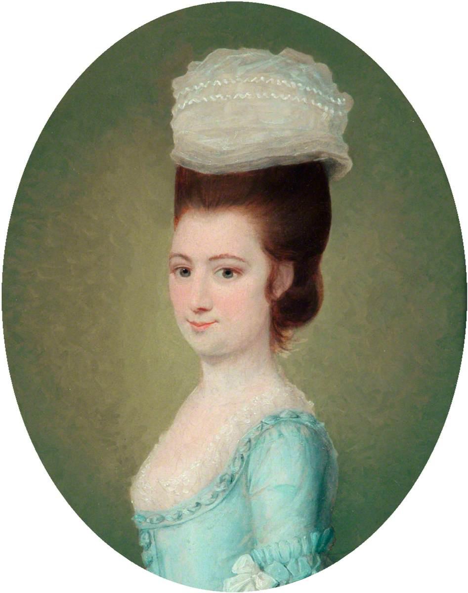Томас Гейнсборо. Портрет молодой женщины