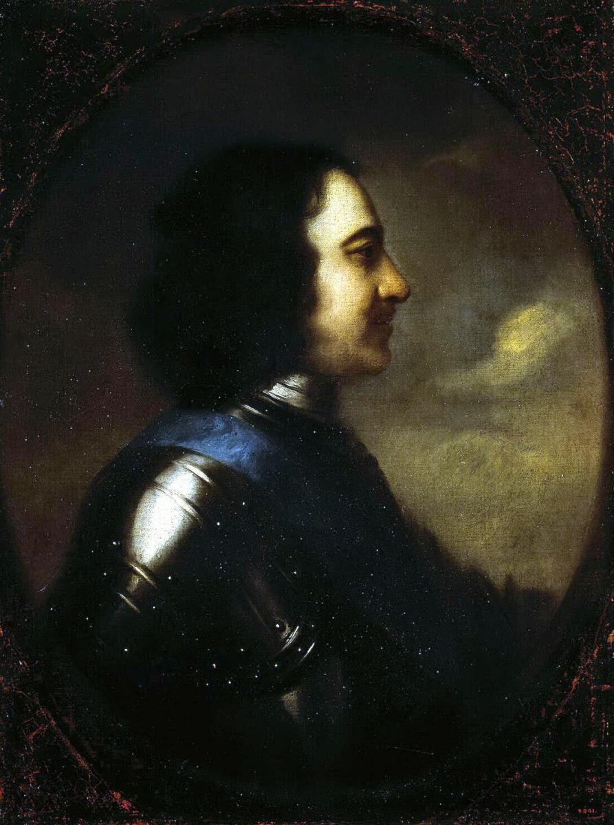 Иоганн Готфрид Таннауэр. Портрет Петра I