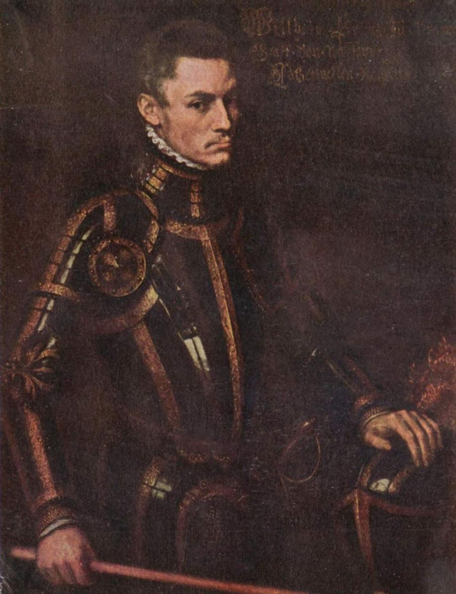 Антонис ван Дасхорст Мор. Портрет принца Вильгельма Оранского