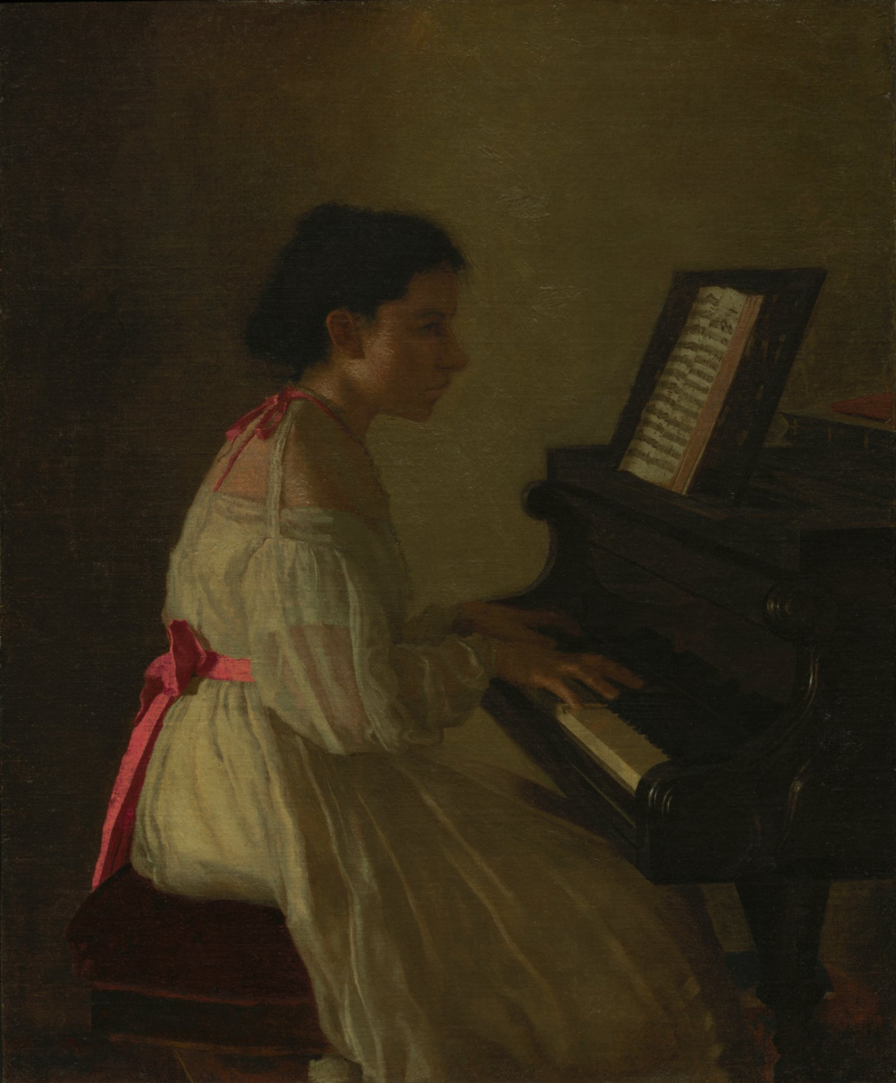 Thomas Eakins. Frances Eakins
