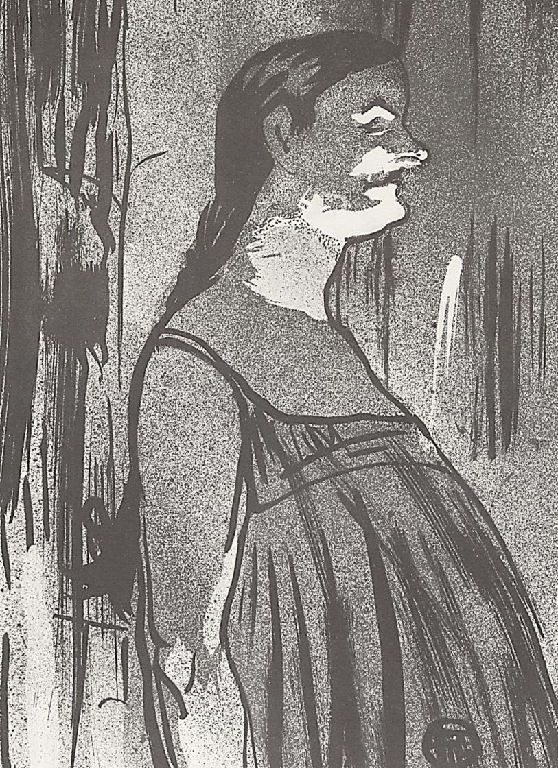 Henri de Toulouse-Lautrec. Madame Abdala in a sundress