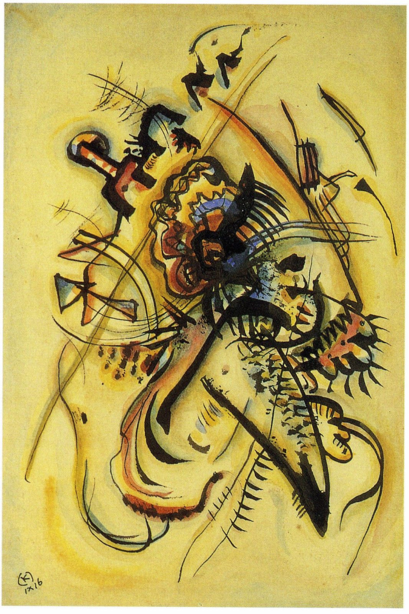 Wassily Kandinsky. To the unknown voice