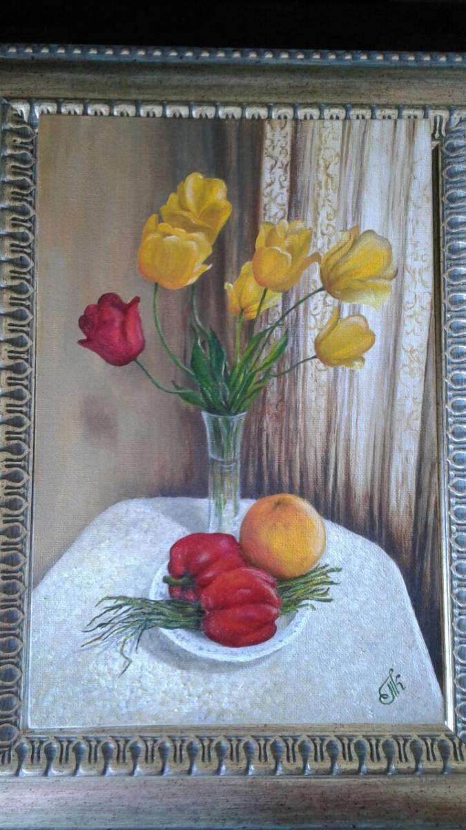 Koroleva Tatyana. Весенний натюрморт