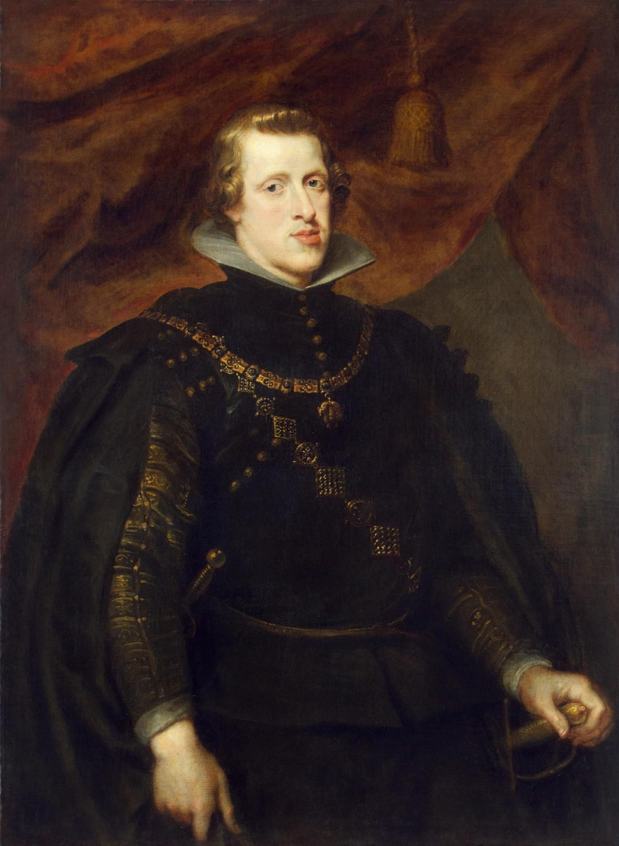 Питер Пауль Рубенс. Портрет короля Филиппа IV