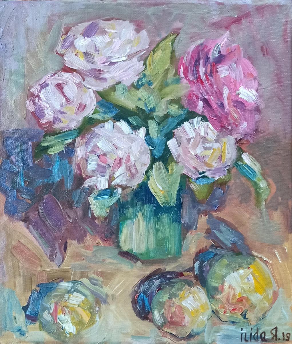 Ilida Yamaltdinova. Розы