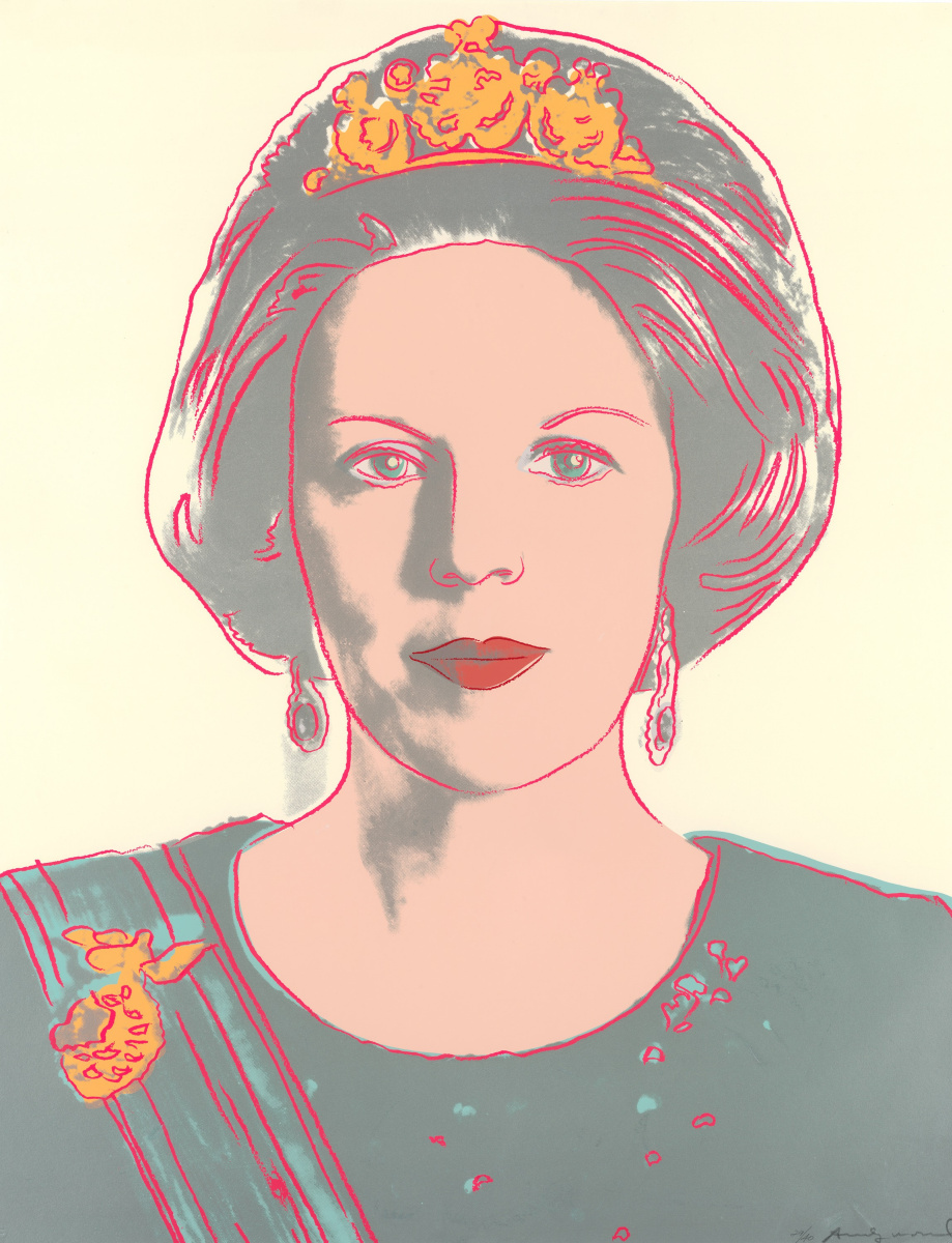 Энди Уорхол. Портрет королевы Беатрикс
