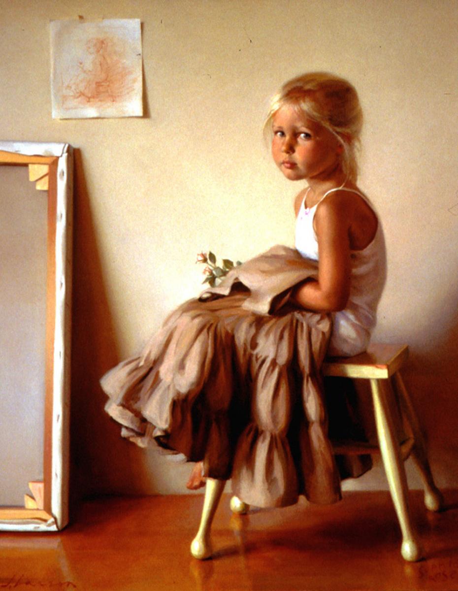 Джеффри Ларсон. Портрет дочери художника