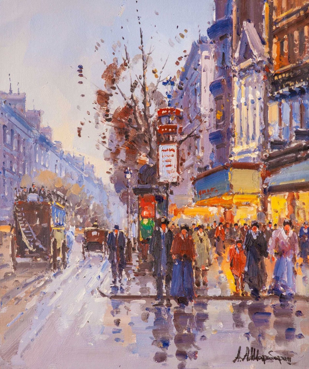 Andrey Sharabarin. Dreams of Paris N4