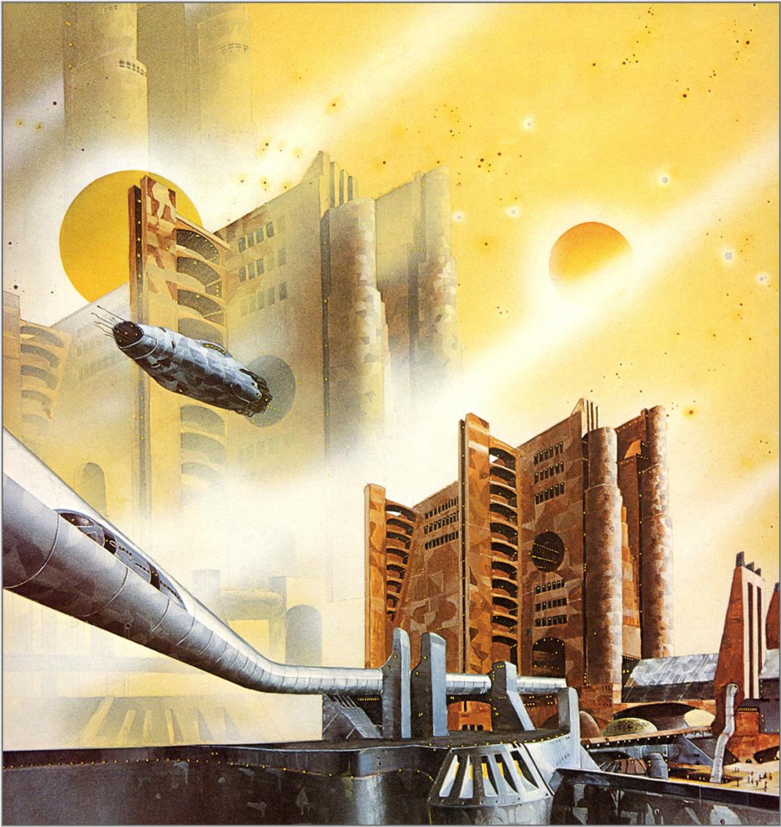 Тони Робертс. Космическое пространство