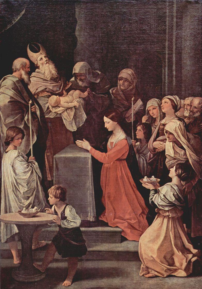 Гвидо Рени. Очищение Девы Марии