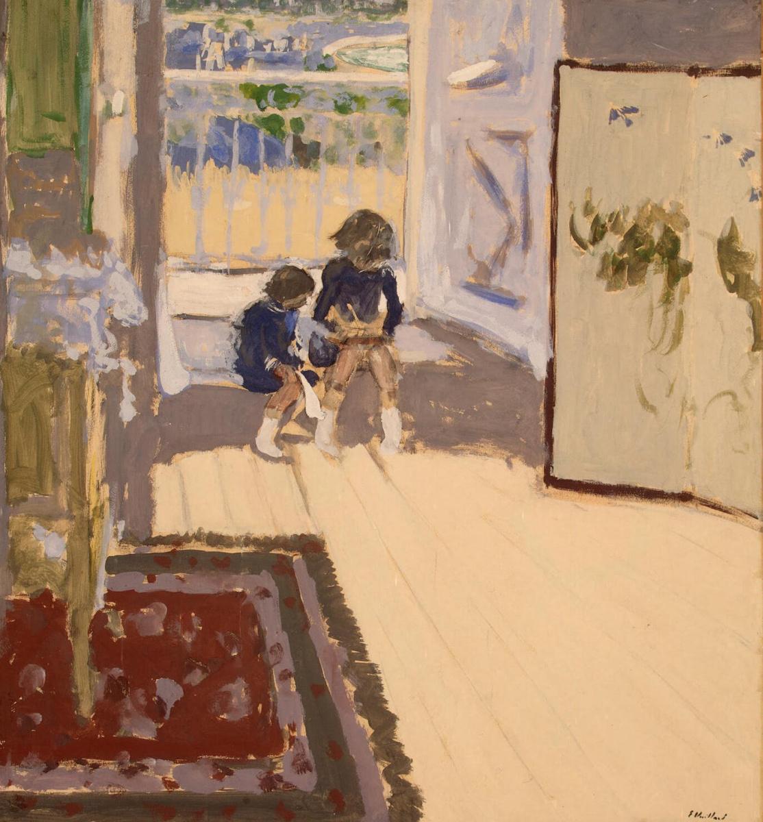 Жан Эдуар Вюйар. Дети в комнате