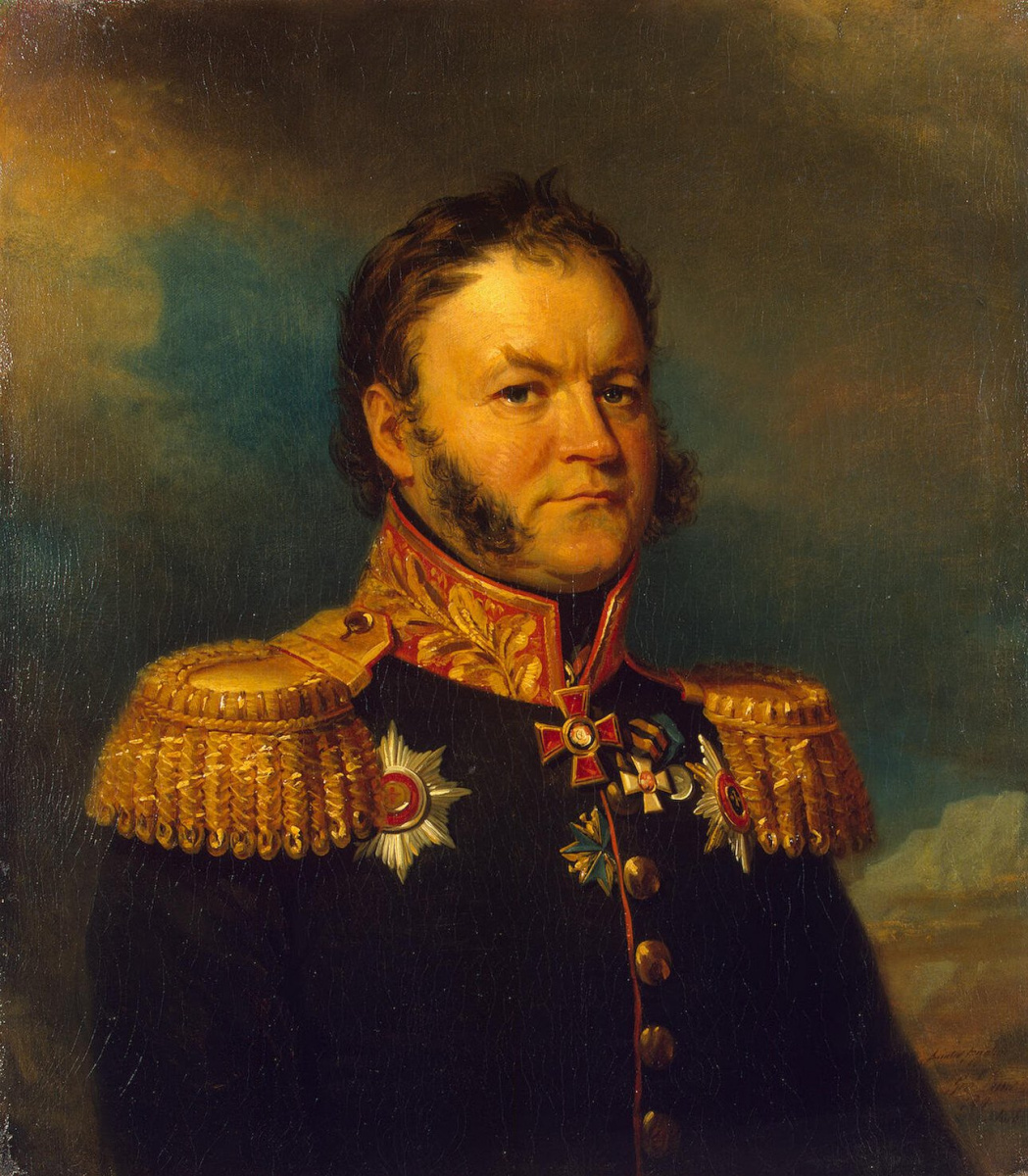 Джордж Доу. Портрет Ивана Александровича Вельяминова