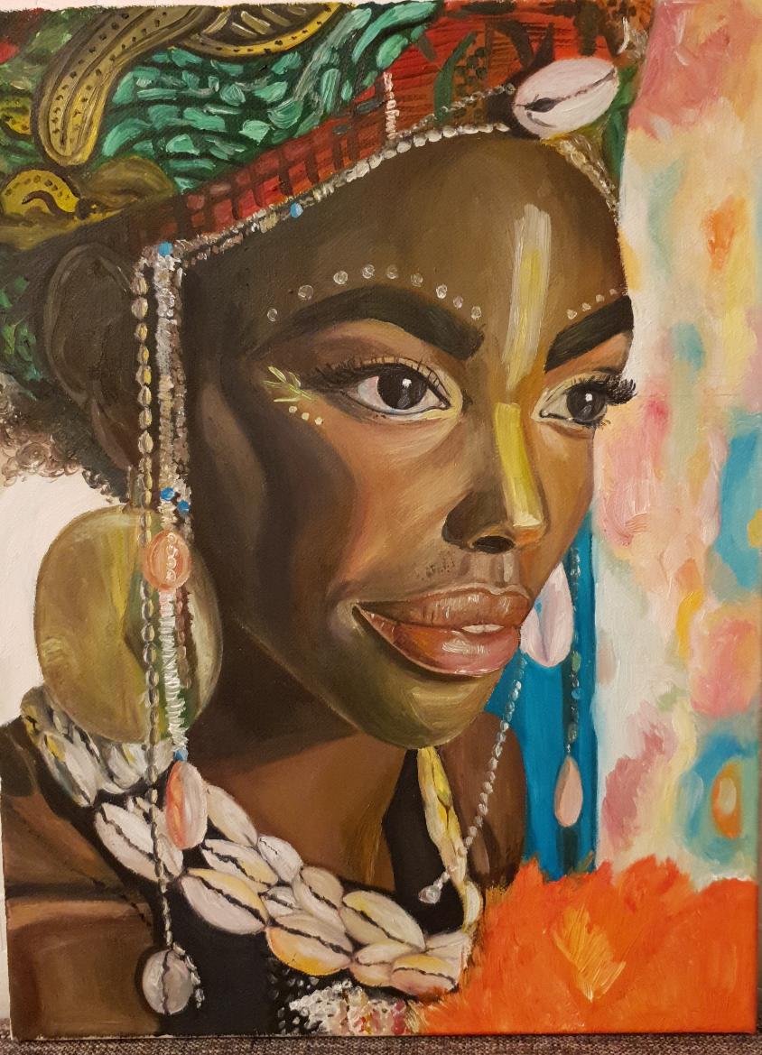 Catherine Samitina. African