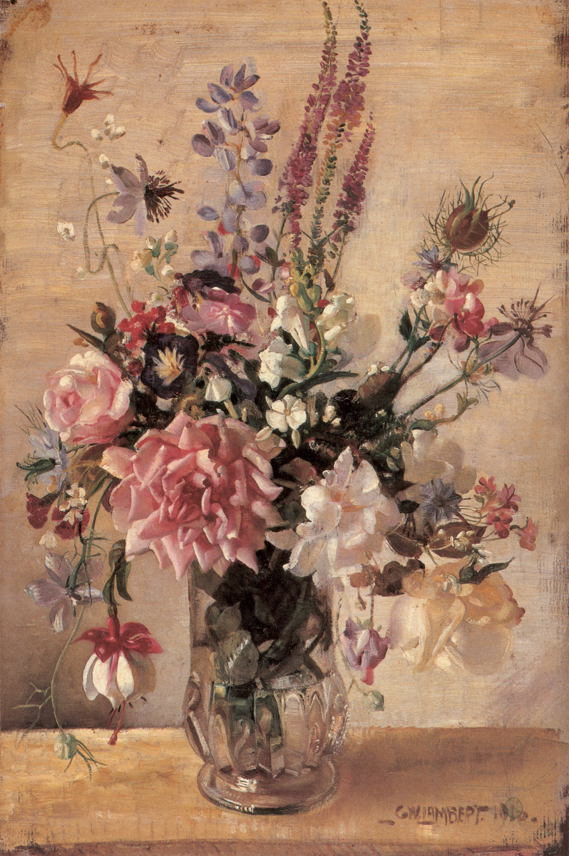 Джордж Ламберт. Цветы