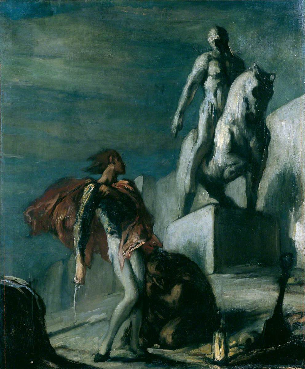 Charles Ricketts. Don Juan and the statue of the Commander