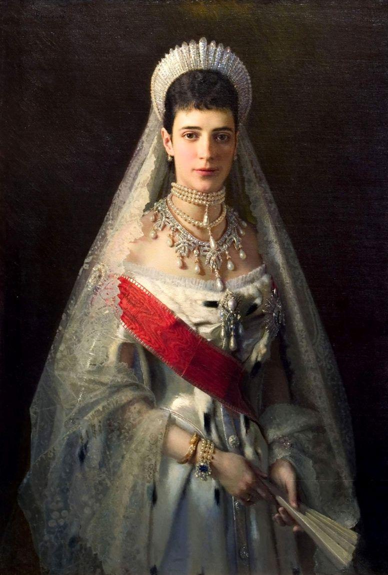 Ivan Nikolayevich Kramskoy. Portrait of Empress Maria Feodorovna